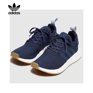 Adidas Originals NMD R2 Sneakers- Trace Blue/Navy